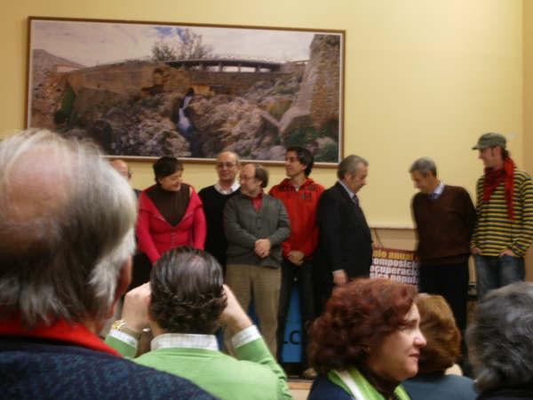"""ENTREGA DE PREMIOS del """"III Premio Anual de Composición y Recuperación de Música Popular Aragonesa Comarca Campo de Belchite""""."""