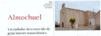 ALMOCHUEL. Un embalse desconocido de gran interés naturalístico.    (Artículo de la revista AL SUR DEL EBRO Nº 1)