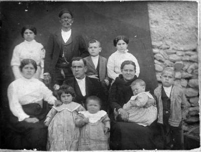 Familia plenera de principios del siglo XX
