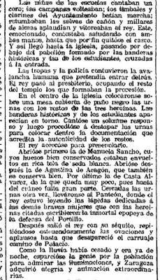 Manuela Sancho y el Centenario de los Sitios de Zaragoza (y3)