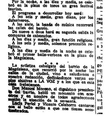 Los gaiteros de Plenas en las fiestas de la Magdalena de Zaragoza (y3)